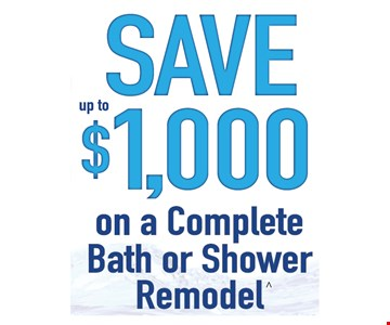 Save up to $1,000