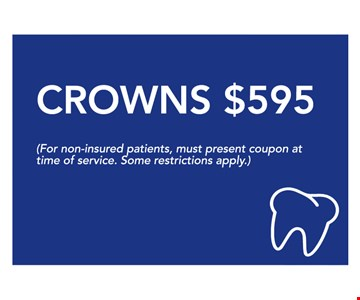 Crowns $595