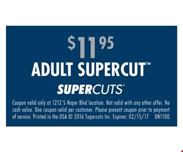 Adult supercut for $11.95.