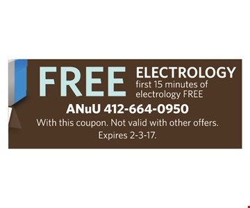 Free electrology