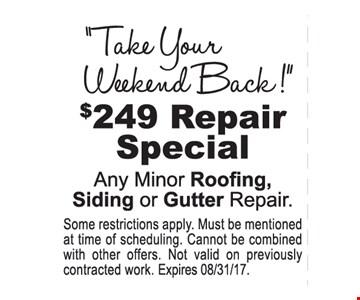 $249 repair special