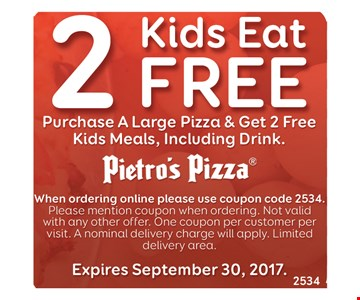 2 kids eat free with purchase