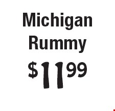 $11.99 Michigan Rummy.