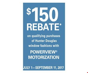 $150 Rebate