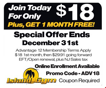 Join today for only $18