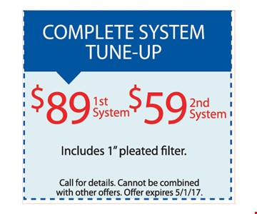 $89 1st system, $59 2nd system. Includes 1