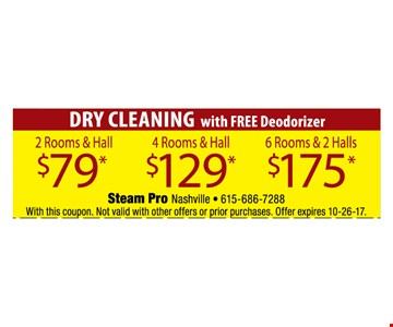 Dry Cleaning for as low as $79
