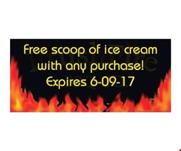 Free Scoop of Ice Cream