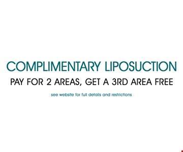 Complimentary liposuction