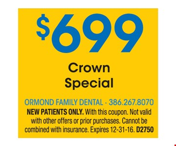 $699 Crown Special