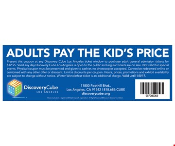 Adults pay the kid's price