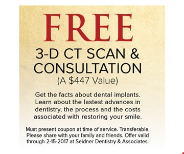 FREE 3-D Scan & Consultation