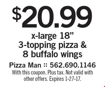 $20.99 x-large 18
