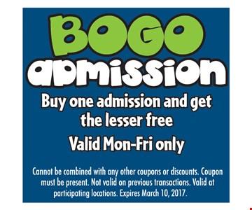 Bogo Admission