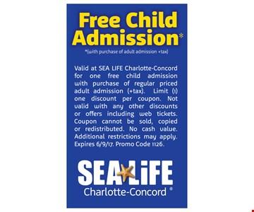 Free child admission