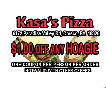 $1 off any Hoagie