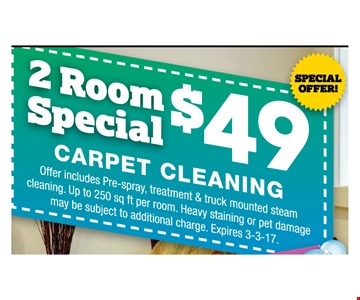 2 Room Special $49
