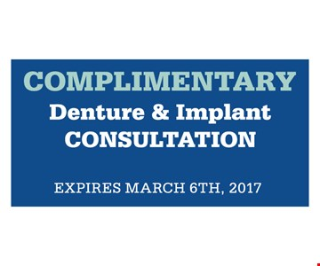 complimentary denture and implant
