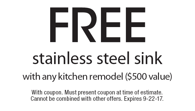 PACIFIC KITCHEN BATH U0026 FLOORING: Free Stainless Steel Sink With Any Kitchen  Remodel ($500