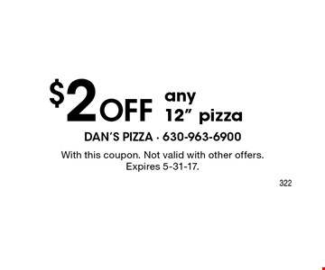 $2 off any 12