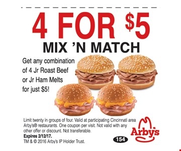 4 For $5 Mix 'N Match