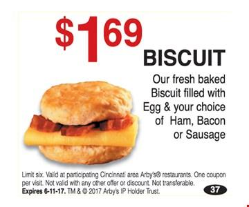 $1.69 Biscuit