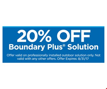 20% Off Boundary Plus Solution