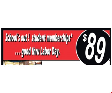 Student Membership $89