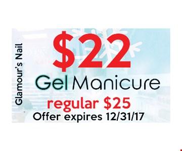$22 Gel Manicure
