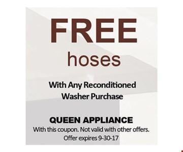 Free hoses
