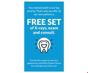 Free Set of X-Rays, Exam & Consult