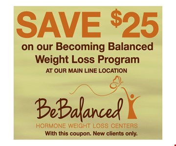 Save $25 On Our Becoming Balanced Weight Loss Program