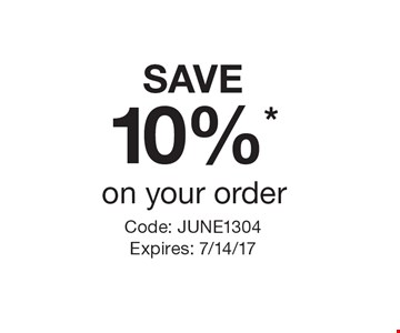 SAVE 10%* on your order. Code: JUNE1304 Expires: 7/14/17Cannot be combined with any other offer. Restrictions may apply. See store for details. Edible®, Edible Arrangements®, the Fruit Basket Logo, and other marks mentioned herein are registered trademarks of Edible Arrangements, LLC. © 2017 Edible Arrangements, LLC. All rights reserved.
