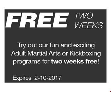 Free Two Weeks