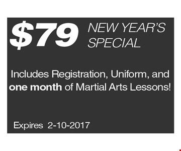 $79 New Year's Special