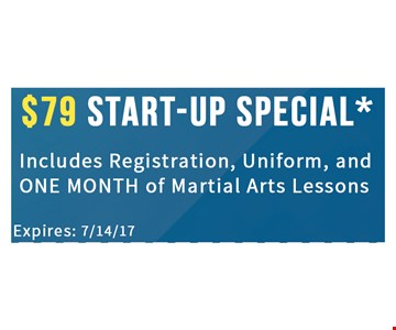 $79 start-up Special