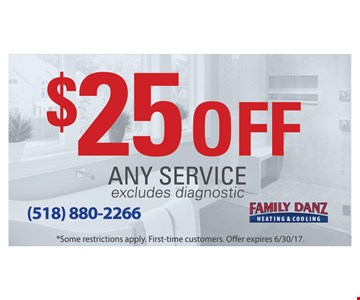 $25 off any service