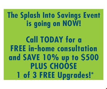 Free In-Home Consultation and Save 10%