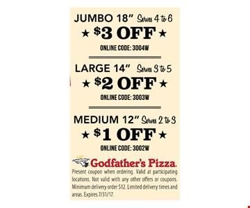 $3 off Jumbo 18