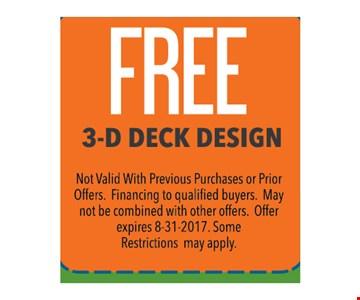 Free 3-D Deck Design