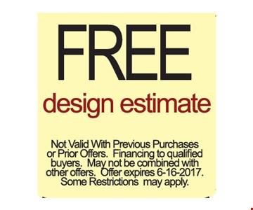 Free Design Estimate