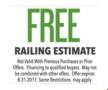 Free Railing Estimate