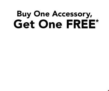 Free* Accessory. Buy One Accessory, Get One Free. Security Bar. 2-Shelf Corner Caddy. Curved Shower Rod.