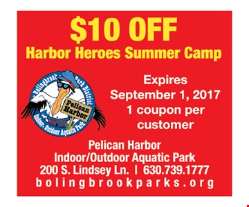 $10 Off Harbor Heroes Summer Camp