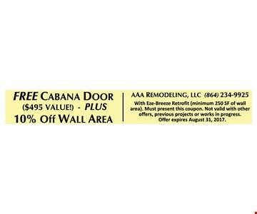 free cabana door