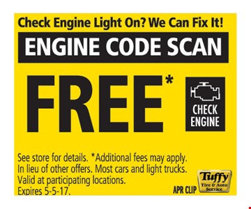Free Engine Code Scan