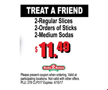 Treat A Friend $11.49