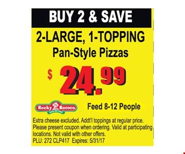 Buy 2 & Save. $24.99