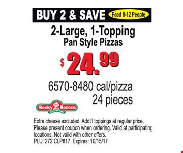 Buy 2 & Save $24.99