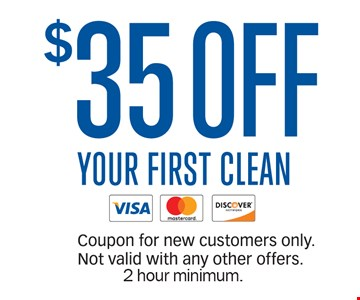 $35 Off Your First Clean